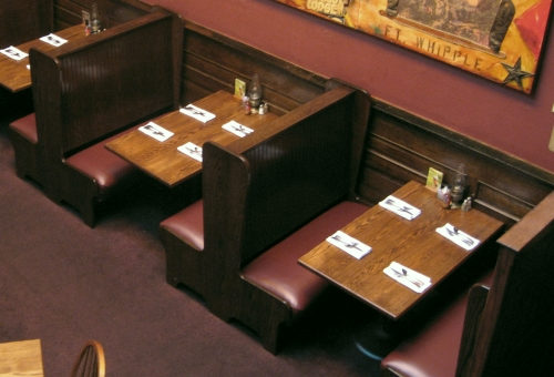 """30"""" Wide Pizza Restaurant Table Tops"""