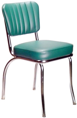 Channelback diner chair