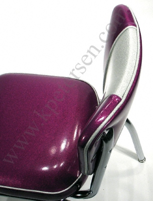 Diner Chair - Two Color Backrest