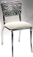 Zebra Diner Chair