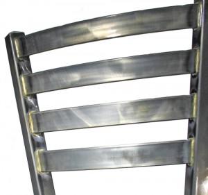 Steel Restaurant Chair Back