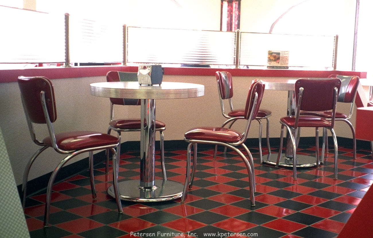 Diner Chairs and Diner Table