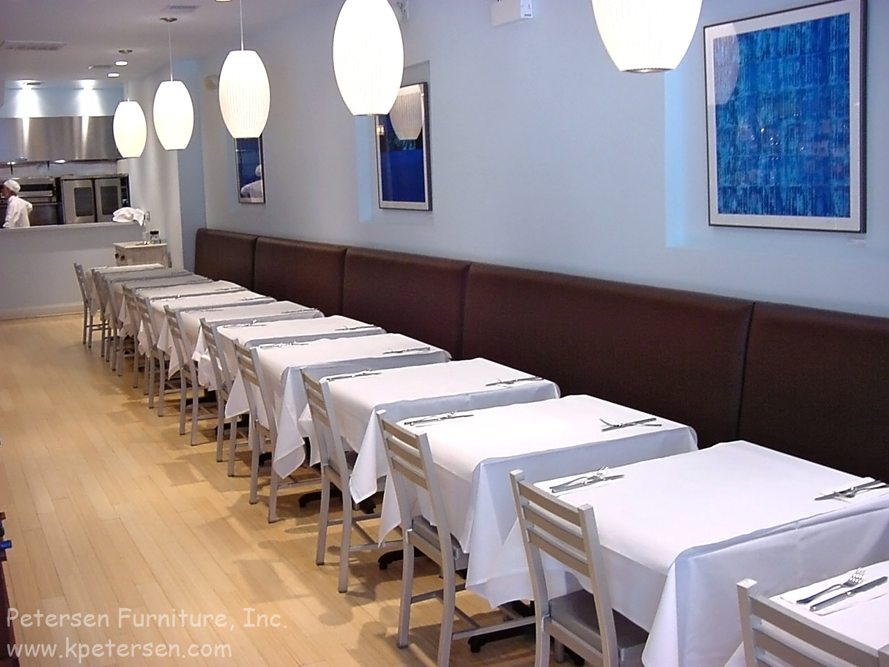 Restaurant booth planning for Plan banquette cuisine