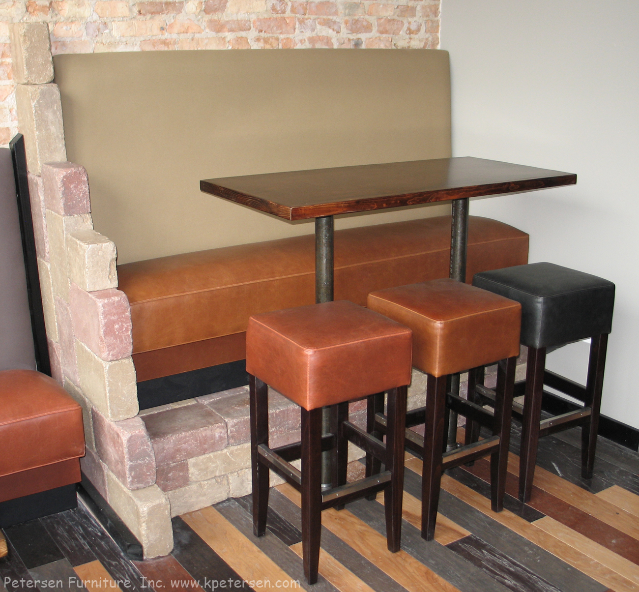 Restaurant Booth Bar Height Platform