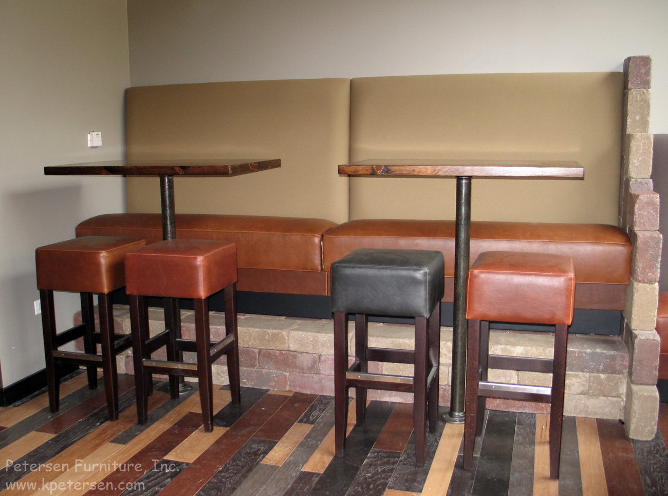 Restaurant Booth Banquette Bar Height