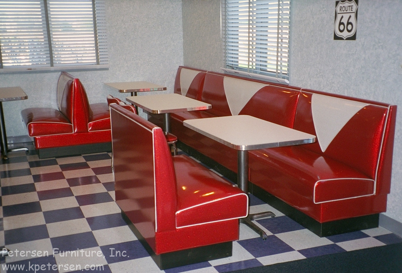 Diner Restaurant Booth Banquette